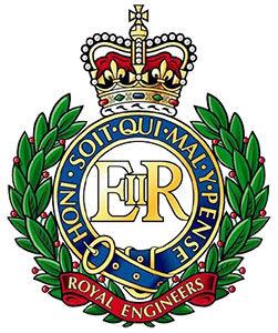 Wappen der Royal Engineers