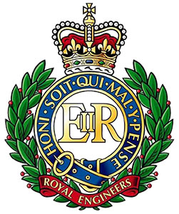 Wappen der Royal Engineers