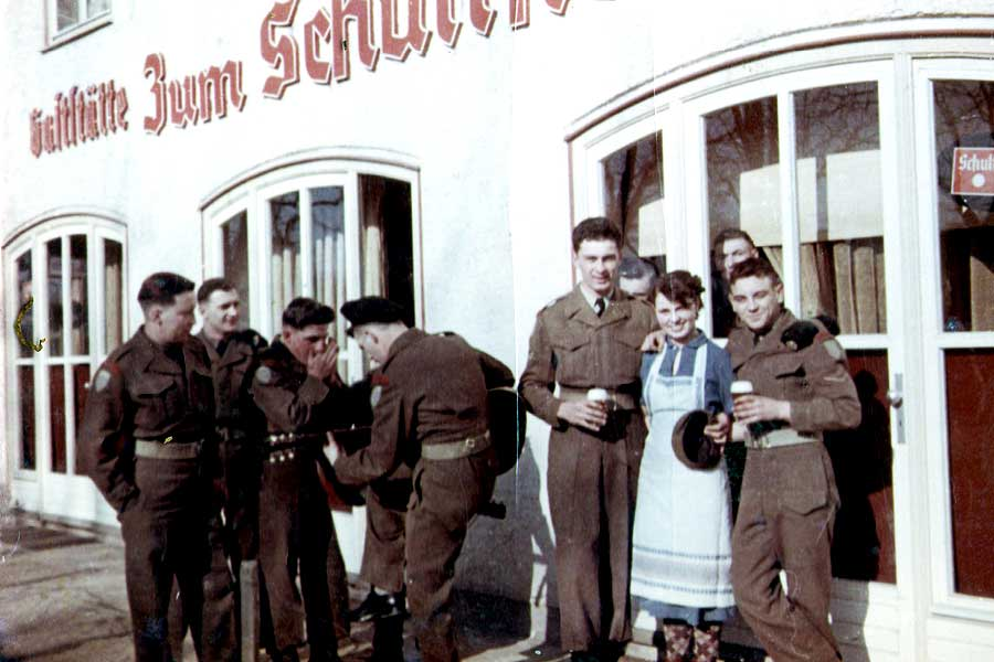Soldaten Royal Engineers Hameln Schultheiss